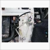納車後整備39~A/Cエバポレーター Oリング交換