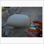 PASSO 整備備忘録 164 (左ドアミラー補修塗装 ホルツ・DIY)後編の画像