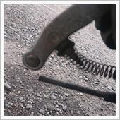 リアブレーキ固着修理2の画像