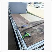 ダイナトラック荷台修理の画像