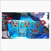 インバーター出力の電圧調整
