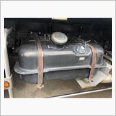燃料タンクバンド交換