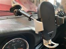 911 (クーペ) スマホホルダー快適化のカスタム手順2