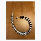 ボルトナットのサイズを確認する数珠玉スケール
