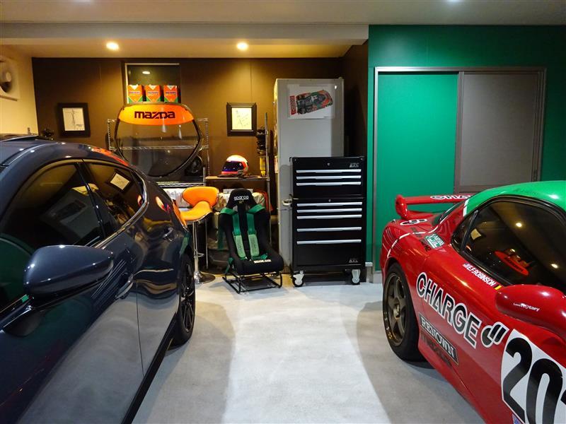 工具箱でガレージを演出