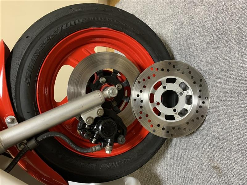 TDR50用ローター交換