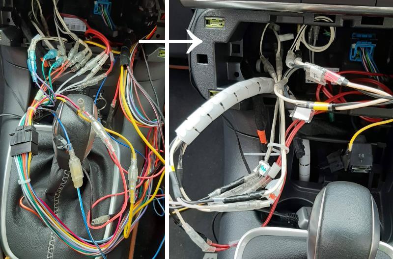 4CHアンプ配線とスピーカー結線
