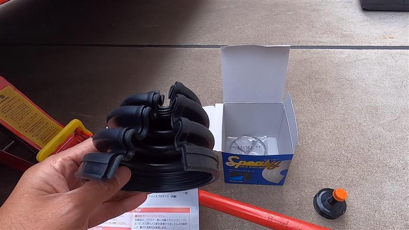 超簡単!!組み立て式ブーツでドライブシャフトブーツ交換しました!