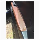ドアパネル レザー剥がれの補修