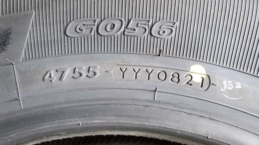 夏タイヤ交換 YOKOHAMA GEOLANDAR H/T G056