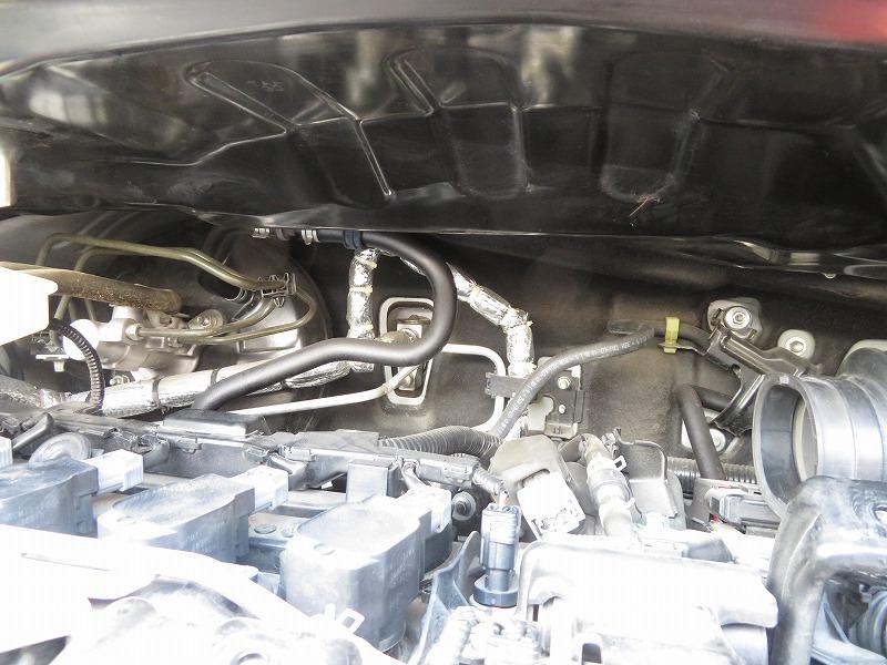 エンジンルームの静音化(ゼトロ耐熱吸音シート編)