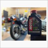 エンジンオイル交換 MOTUL 5100 15w-50