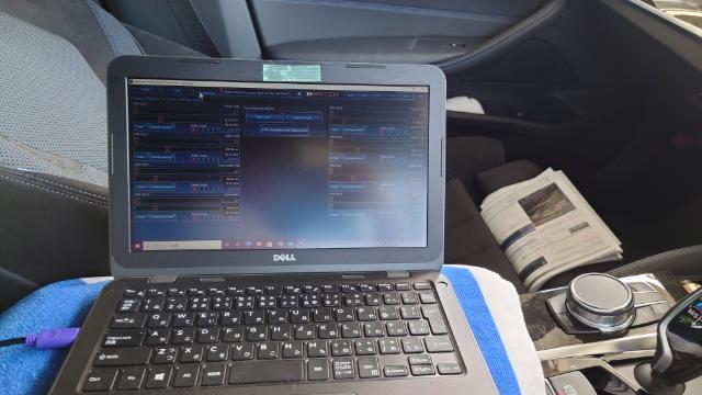 アンプ付DSP UP-7BMWにMini Bコネクタ常時接続