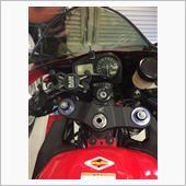 余ってるクルマ用をバイクに。。(;・`д・´)。。チャントウゴクノカ?。。