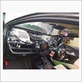 Toyota Vitz 1KR CANバスがナビゲーションに接続