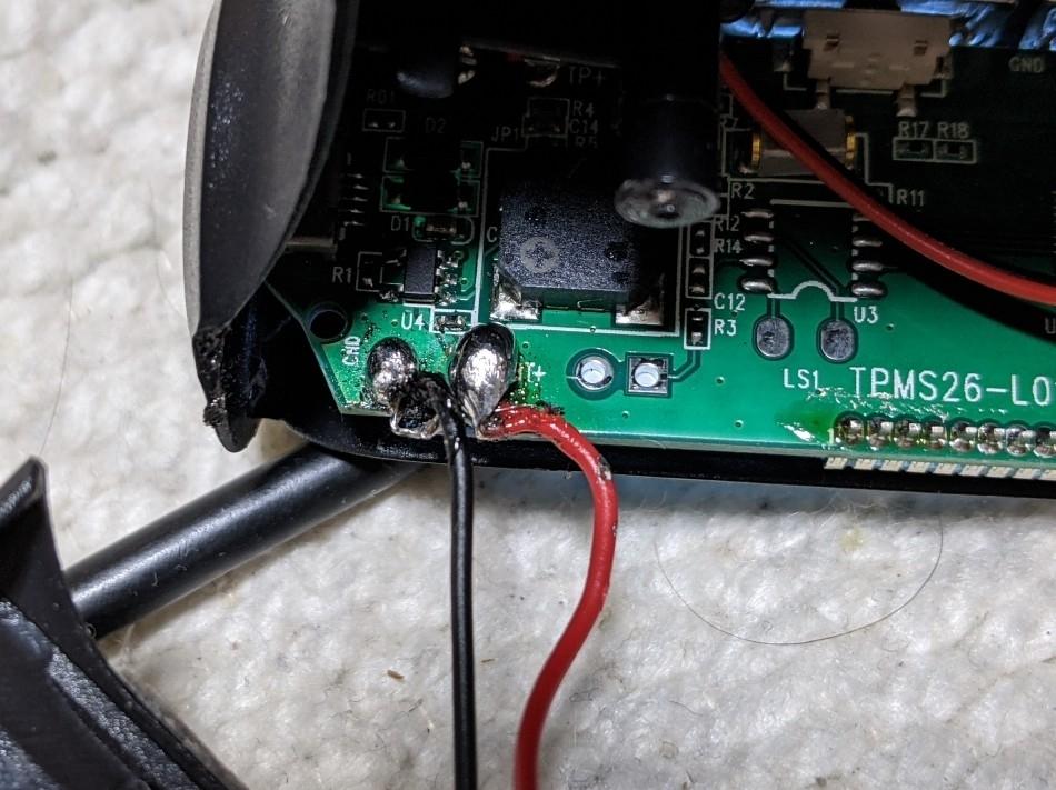 ワイヤレスエア監視システム 修理