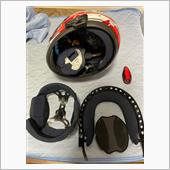 初めてのヘルメットの中身洗濯