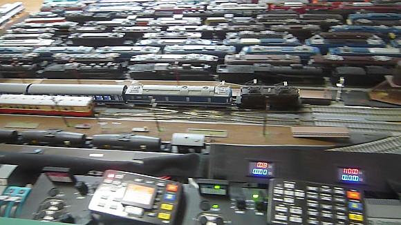 LED配線接続と機関士乗車