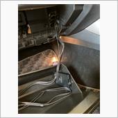ETC車載器を純正取付位置に。