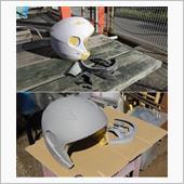 ヘルメットをラップ塗装でリメイクしてみた!?