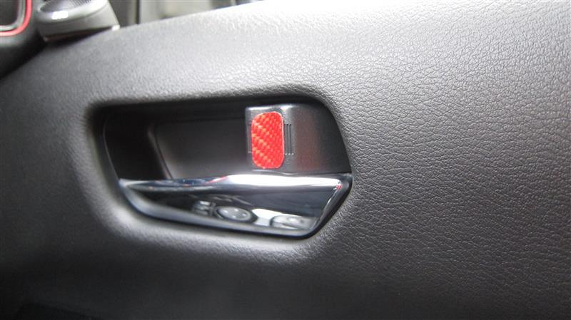 ドアロックの目印
