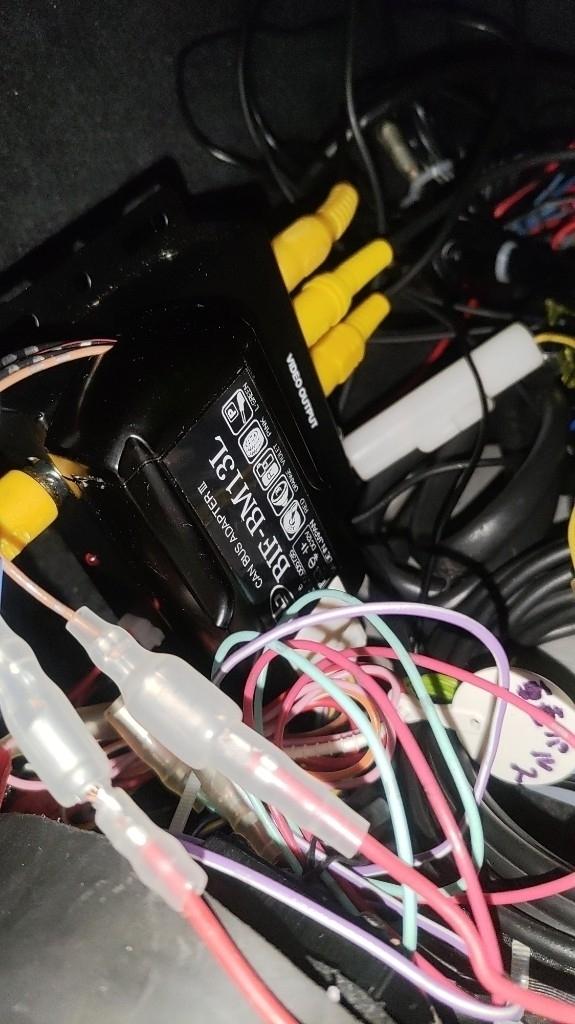 E60  社外ナビをステアリングリモコンで操作する