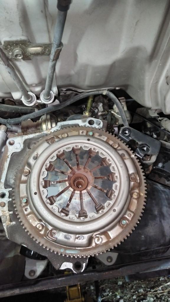 S100Vハイゼット クラッチ交換2