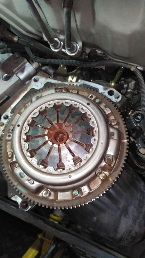 S100Vハイゼット クラッチ交換3
