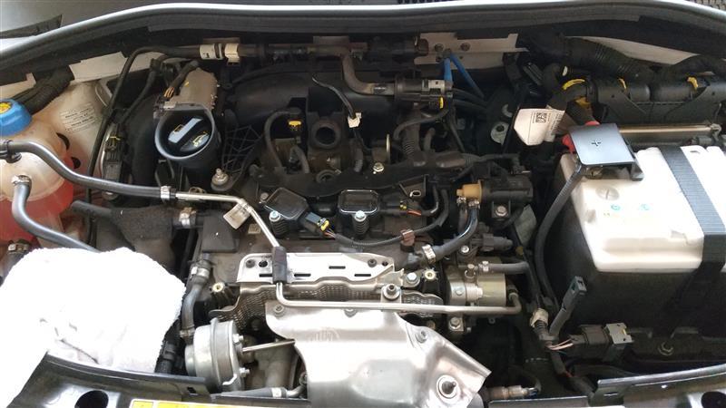 エンジンオイル・エレメント交換。