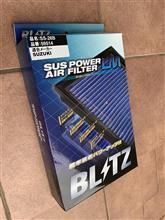 BLITZ SUS POWER AIR FILTER LM交換