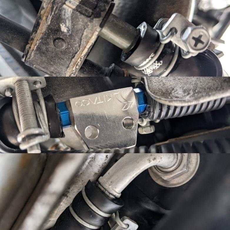 ATF温度センサーの取り付け