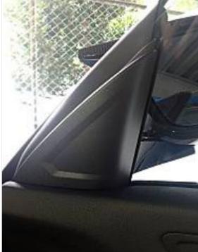 BMW ディーラーで後付けツイーター
