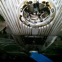エンジンオイル交換(10W-40W)