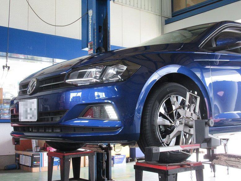 アライメント調整...スバルBRZ タイヤ交換後..一番ベスト。