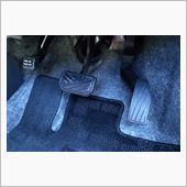 アルミペダル (カバータイプ)を装着