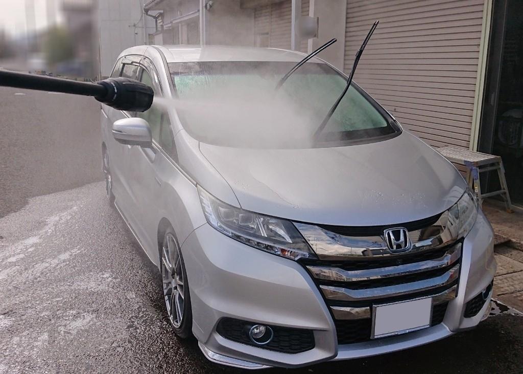 第97回洗車(ホイールとエンジンルームも洗浄)