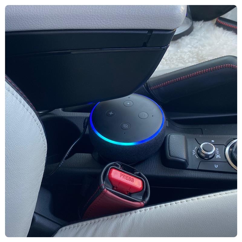 アレクサを替えてみた(echo auto→echo dot)