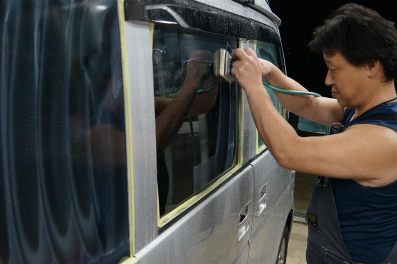 いきなりキャンペーンで強力ガラス撥水 50%OFF 仕事マシンで!