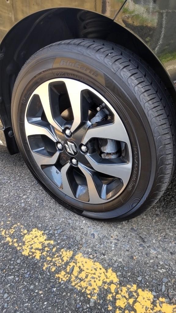 タイヤローテーション&窒素充填