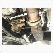 オイル漏れ修理でオイルパンのシール打ち替え