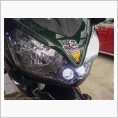 1400GTR ヘッドライトバルブ交換