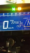 チェーン張り調整 22567km