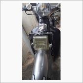 LEDワークライト取付ステー補強の画像