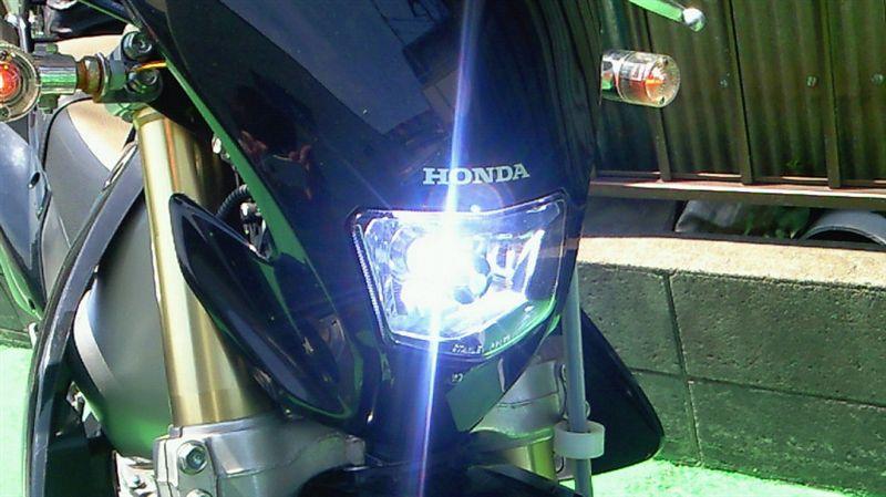 XR250 モタードBREX H4 HIDの単体画像