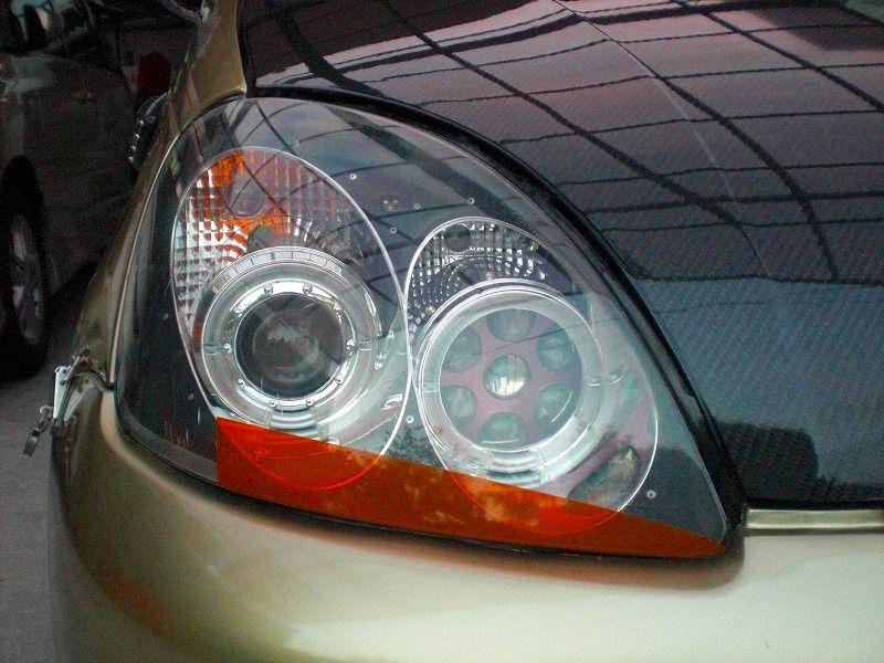 プラッツ海外製 イカリング付4灯ライトの単体画像