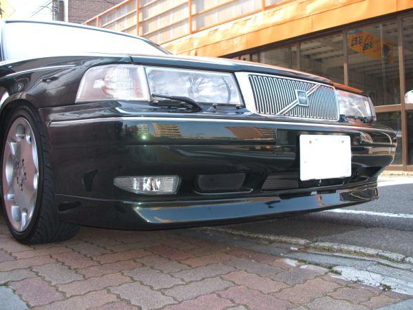 V90その他 他車種流用ワンオフフロントスポイラーの単体画像
