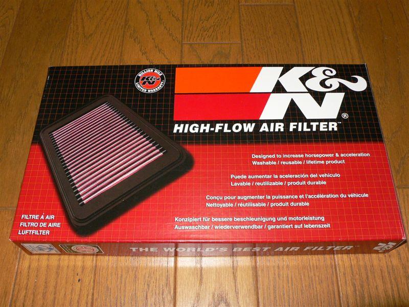 [K&N] ハイフローエアフィルター