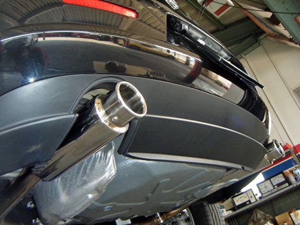 159 スポーツワゴンTEZZO プレミアムライトウェイトマフラー トルクver.【消音バッフル付】の単体画像