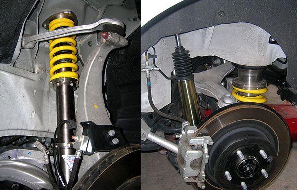 スタンザENDLESS オーダーメイド 車高調の単体画像