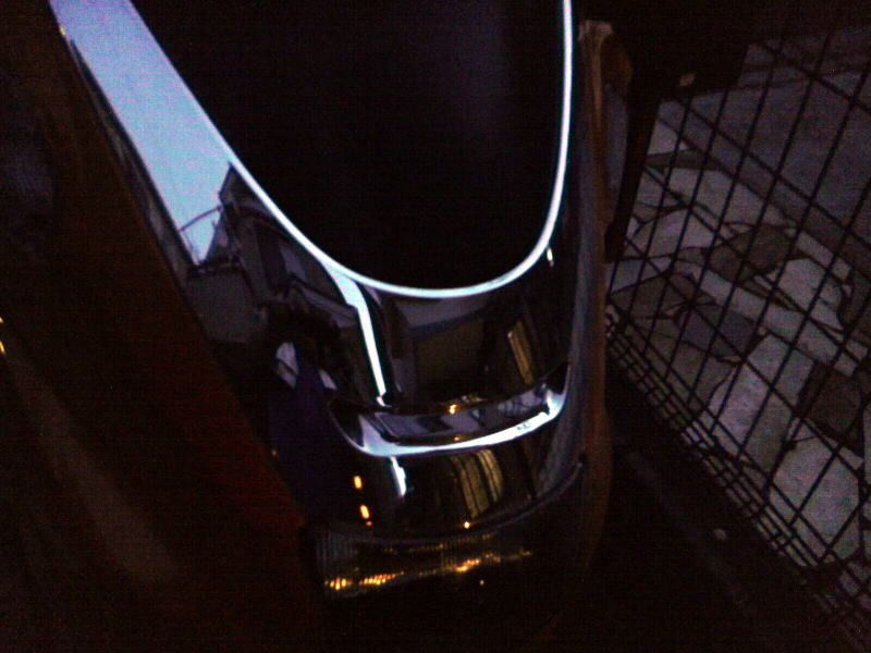 マジェスティ250不明 メッキフロントカウルの単体画像